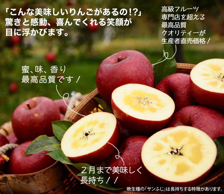 高級フルーツ 専門店を超える最高品質 クオリティーが 生産者直売価格! 蜜、味、香り 最高品質です! 2月まで美味しく 長持ち!!